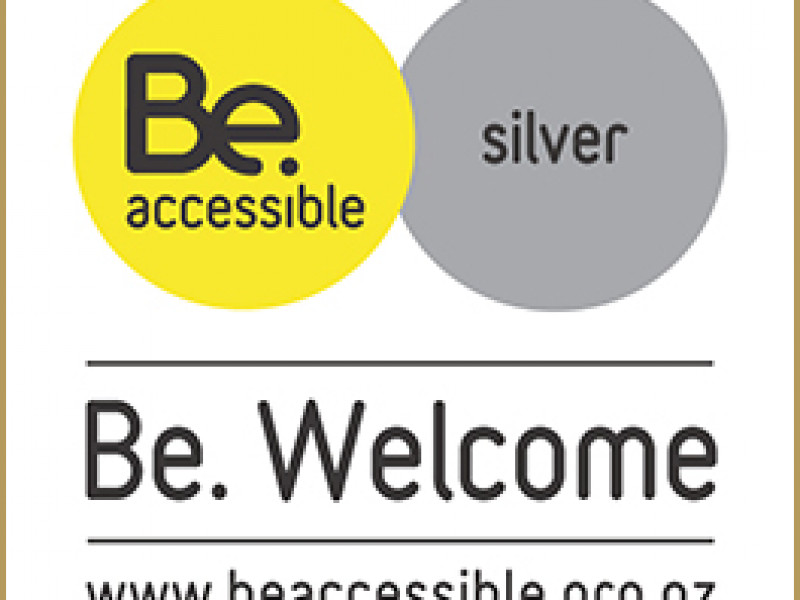 Be Accessible Silver logo web